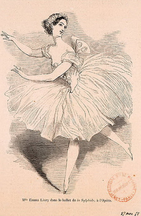 Французская балерина Эмма Ливри