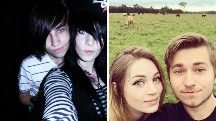 До и после: повзрослевшие эмо.
