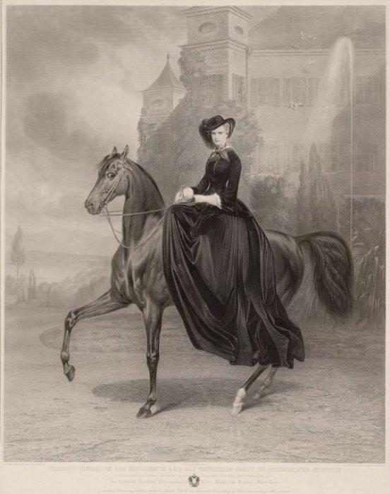 Портрет Елизаветы, 1853 г.