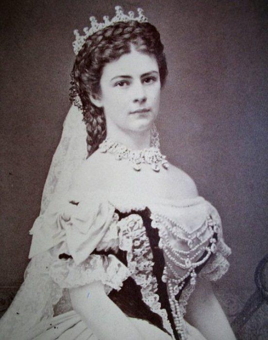 Фотография императрицы Австрии.