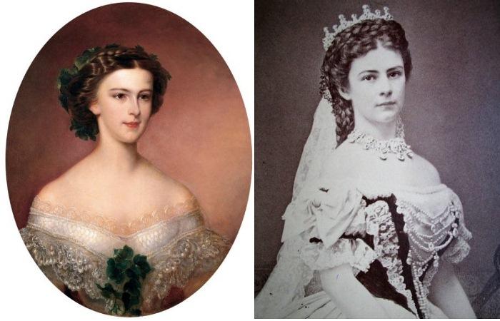 Австрийская императрица Елизавета Баварская.