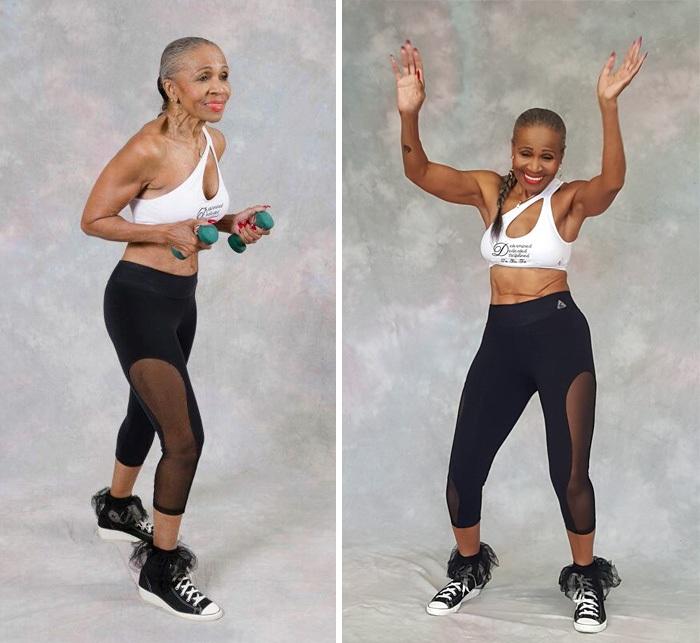 Эрнестина Шеферд - самая взрослая фитнес-бабушка в мире!