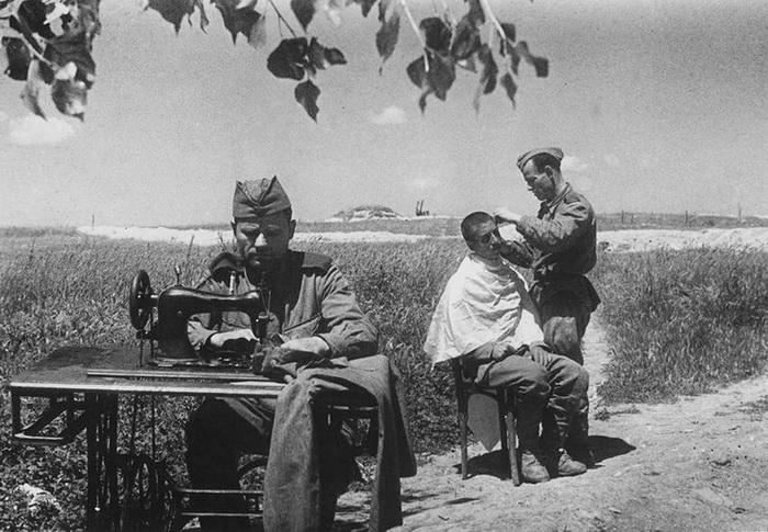 Быт советских солдат между боями. Лето 1943 года.