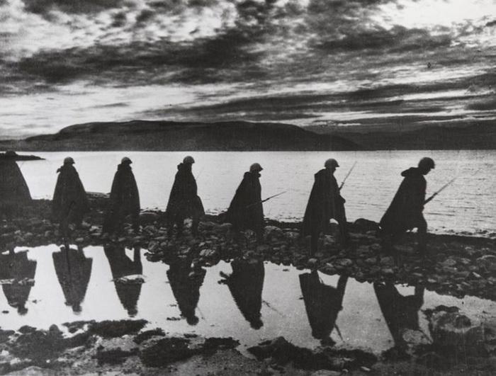На Мурманском направлении, июль 1941 года.