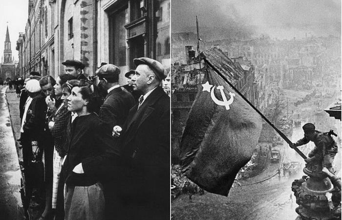 Военные фотографии Евгения Халдея.