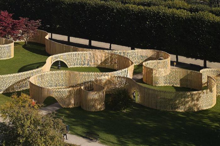 Павильон «Trylletromler» в парке Розенборгского замка (Копенгаген)