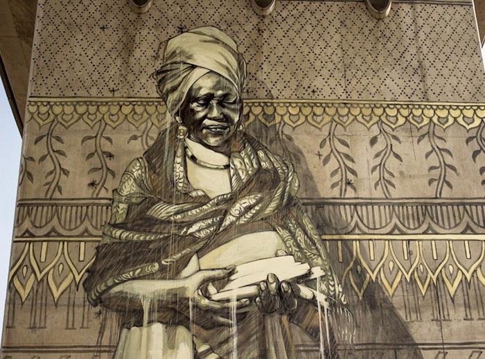 Гигантские фрески от Faith47