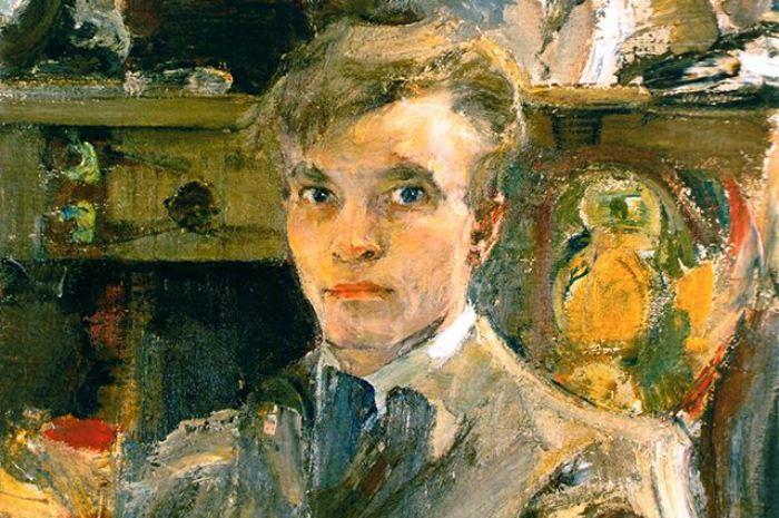 Николай Фешин. Автопортрет, 1920 год