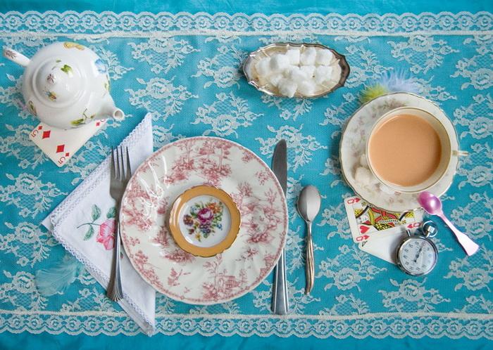 Фотоиллюстрация к *Алисе в стране чудес* Кэролла от Дианы Фрайд (Dianah Fried)