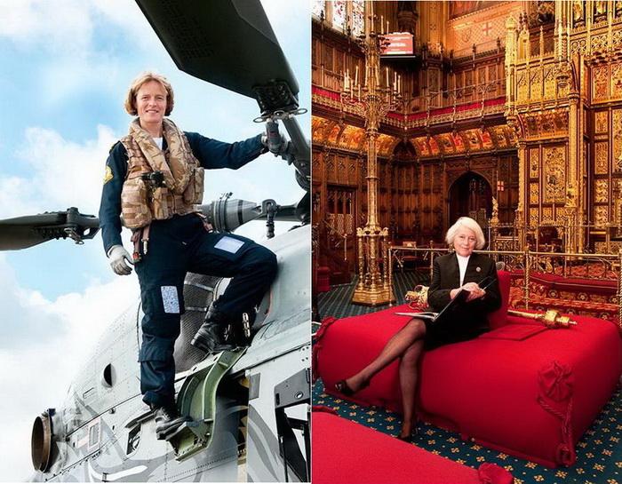 First Women: фотоцикл о выдающихся англичанках от Аниты Корбин (Anita Corbin)