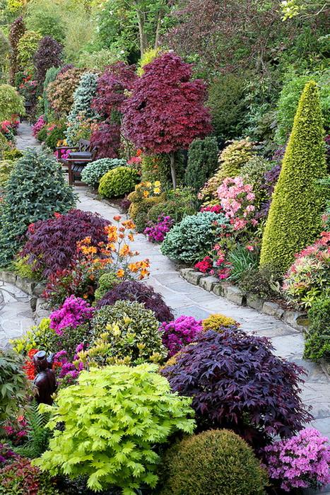 Весна в удивительном  парке Four Seasons Garden