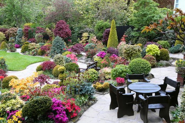 Лето в удивительном  парке Four Seasons Garden