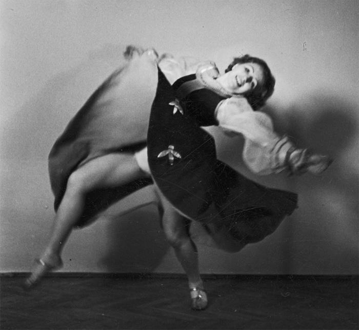 Франциска Манн танцует. 1939 год. Фото: Culture.pl
