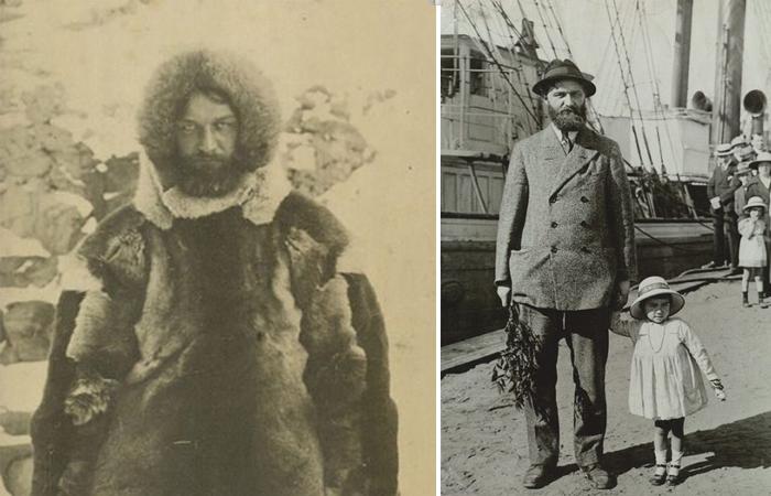 Питер Фройхен - бесстрашный путешественник, изучвший Гренландию, как свои пять пальцев.