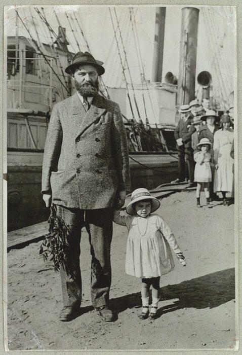 Питер Фройхен с дочерью. Фото: was.media