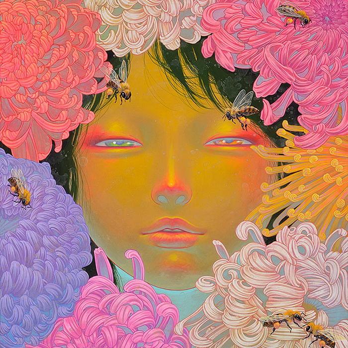 Яркие женские портреты от Фуко Уэды (Fuco Ueda)