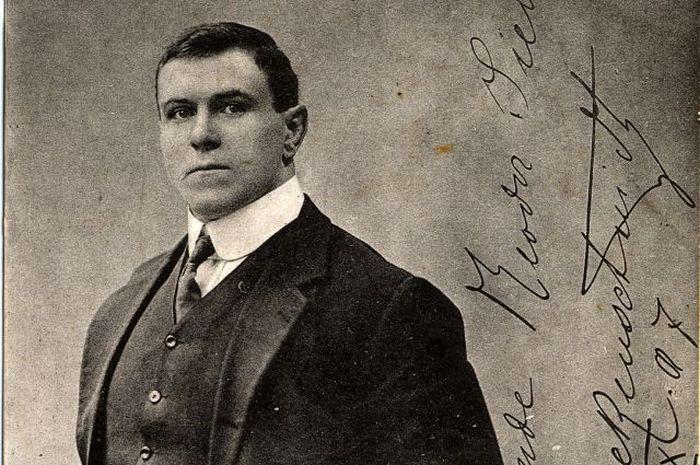 Русский силач Георг Гаккеншмидт