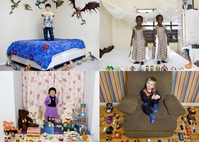 """Детские игрушки в проекте """"Toy Stories"""" известного итальянского фотографа Габриэле Глимберти"""