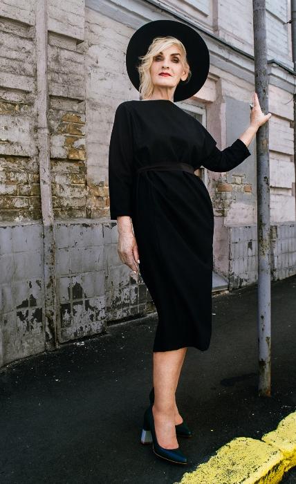 Галина Герасимова - самая взрослая модель в Украине. Фото: talktome.com.ua