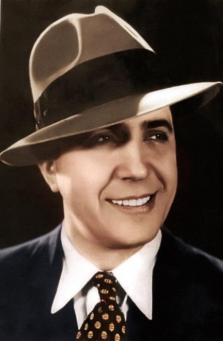 Портрет музыканта Карлоса Гарделя