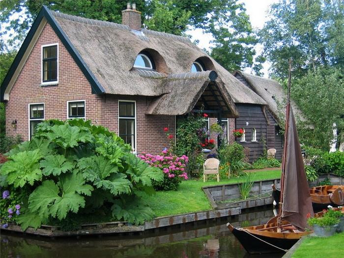 Нидерландская деревня Гитхорн