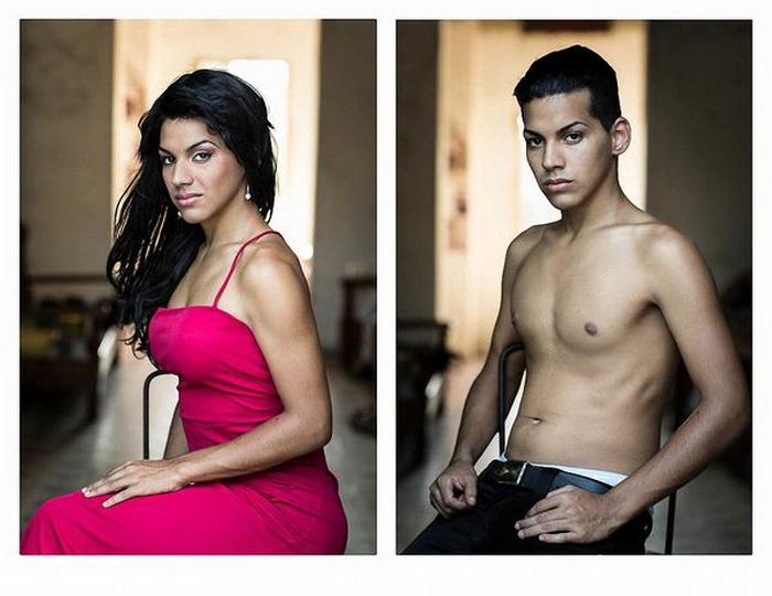 До и после смены пола. Фотоцикл от Клаудии Гонсалес (Claudia Gonzalez)