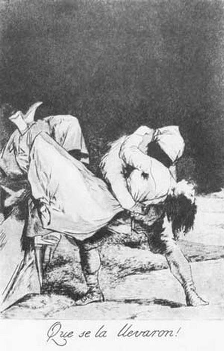 Франсиско Гойя. Ее похитили!