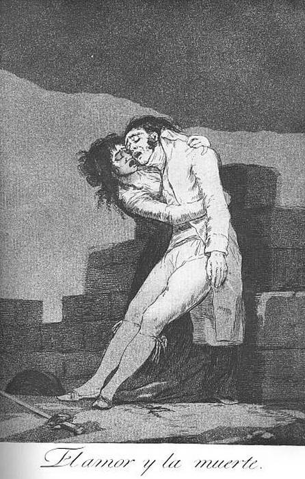 Франсиско Гойя. Любовь и смерть.