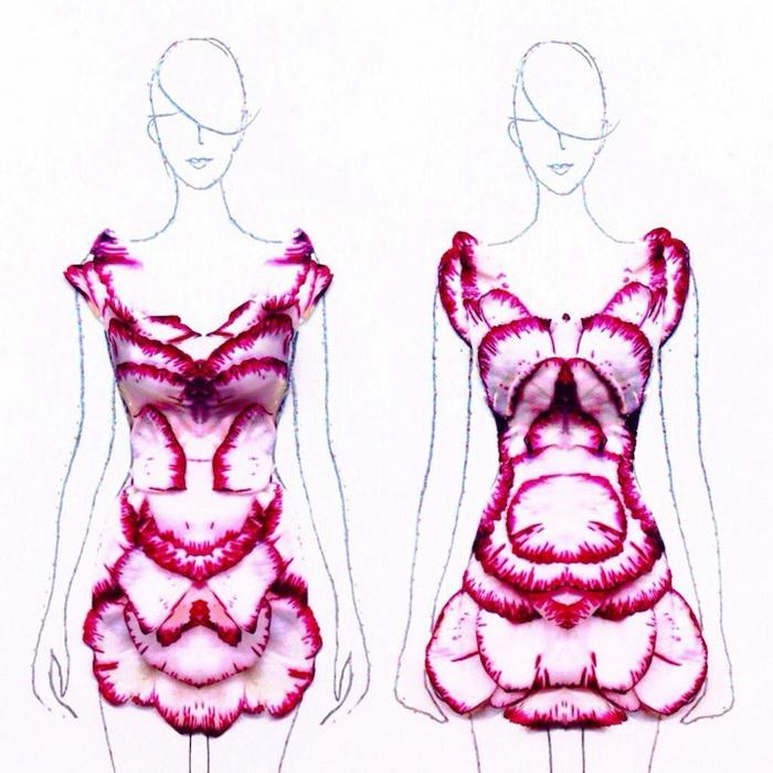 Эскизы платьев от Grace Ciao
