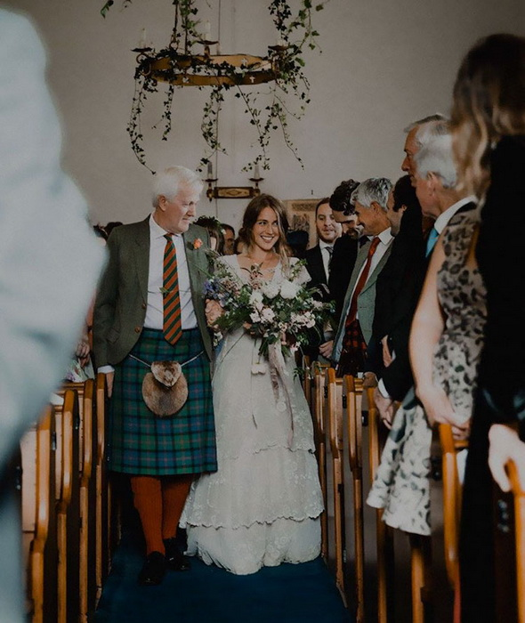 Свадьба в ретро-стиле.