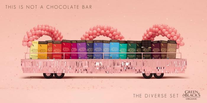 This is not a chocolate bar.*Дружная семейка* шоколадок Green & Black's