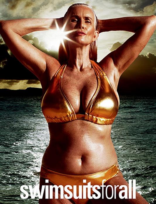 Фото в золотом купальнике на обложке Sports Illustrated