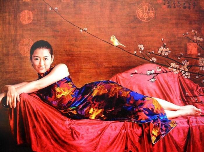 Красота и очарование. Работы Гуань Цзэцзуй (Guan ZeJu)