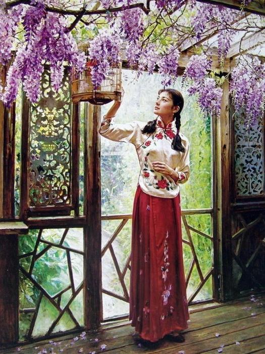 Очаровательные женские портреты от Гуань Цзэцзуй (Guan ZeJu)