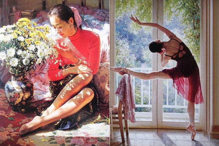 Творчество китайского художника Гуань Цзэцзуй (Guan ZeJu)