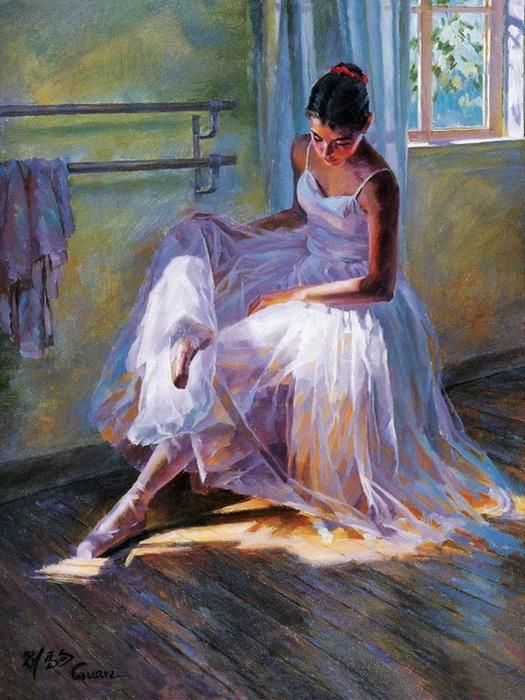Красота балета в работах Гуань Цзэцзуй (Guan ZeJu)