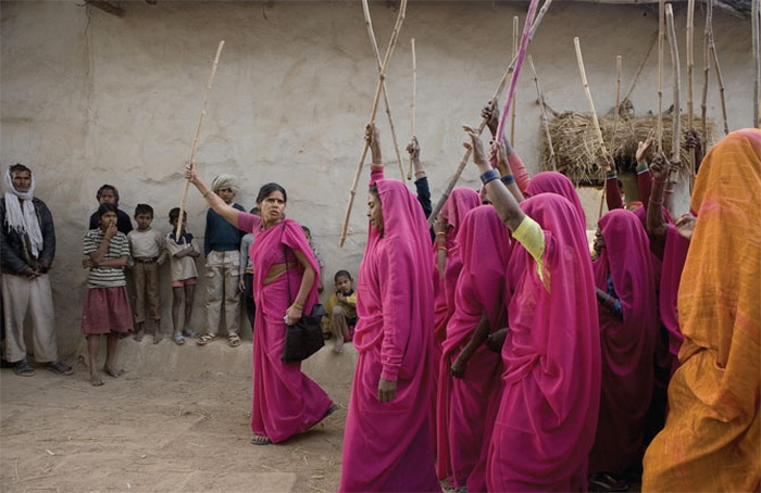 женское сари фото