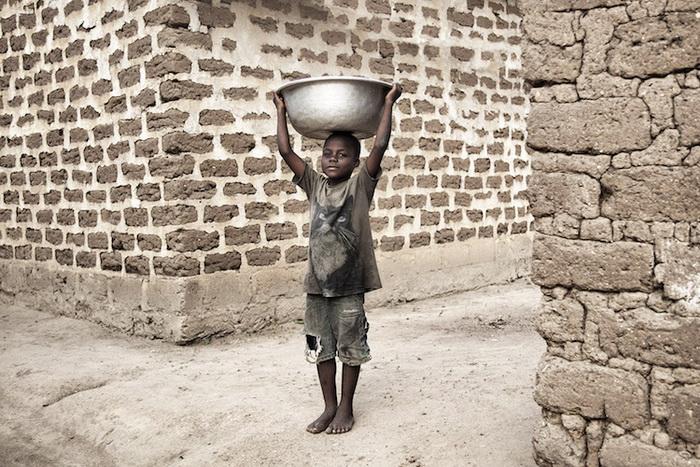 Африканские дети. Фотографии Густава Виллейта (Gustav Willeit) из Того.