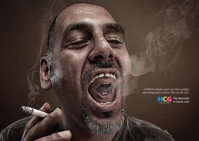 Социальная реклама против курения от HCG Cancer Care