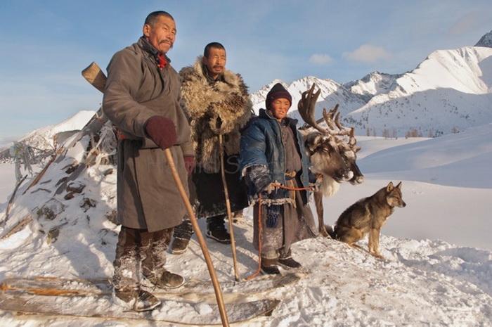 Цаатаны - древние кочевники-оленеводы (Монголия)