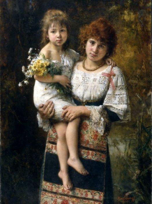 Портреты в духе эпохи Возрождения