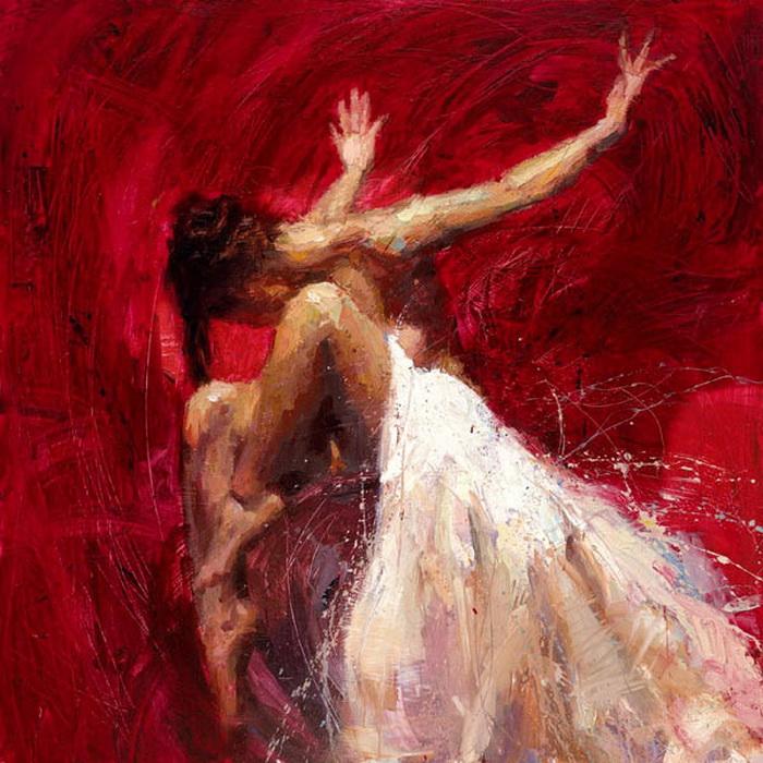 Женская красота на картинах Henry Asencio