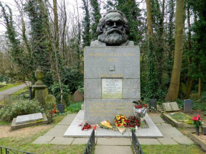 Могила Карла Маркса.