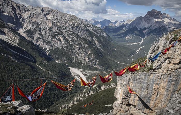 Хайлайнеры отдыхают на высоте от 20 до 330 м над землей