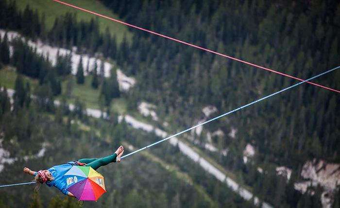 International Highline Meeting - фестиваль для экстремалов