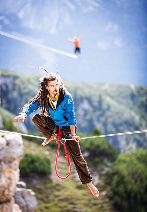 Фестиваль International Highline Meeting в Италии