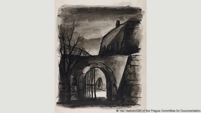 Бедрих Фритта, *Черный ход*, 1941-1944