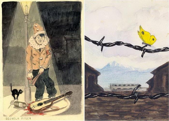 Картины, написанные в концлагерях