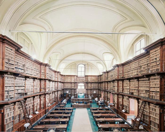 Библиотека Анжелика (Рим). Фотограф Фрэнк Бобот (Franck Bohbot)