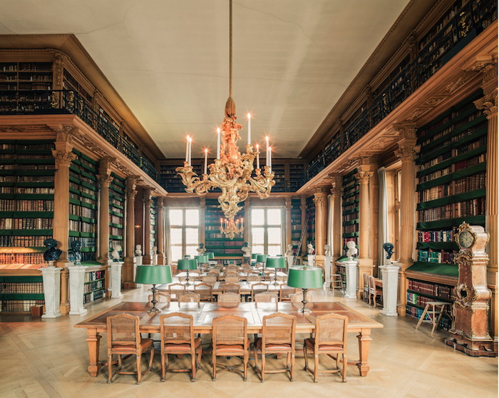 Библиотека Мазарини (Париж). Фотограф Фрэнк Бобот (Franck Bohbot)